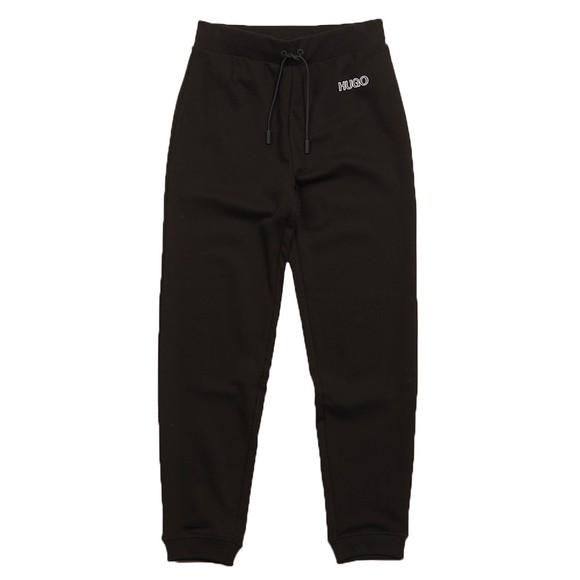 HUGO Womens Black Dachibi Jogger