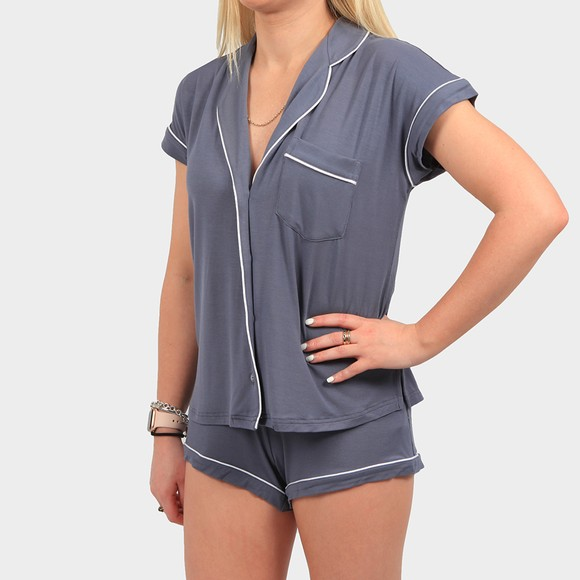 Ugg Womens Grey Amelia Pyjama Set