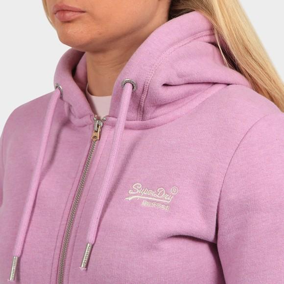 Superdry Womens Pink OL Classic Zip-Hood main image