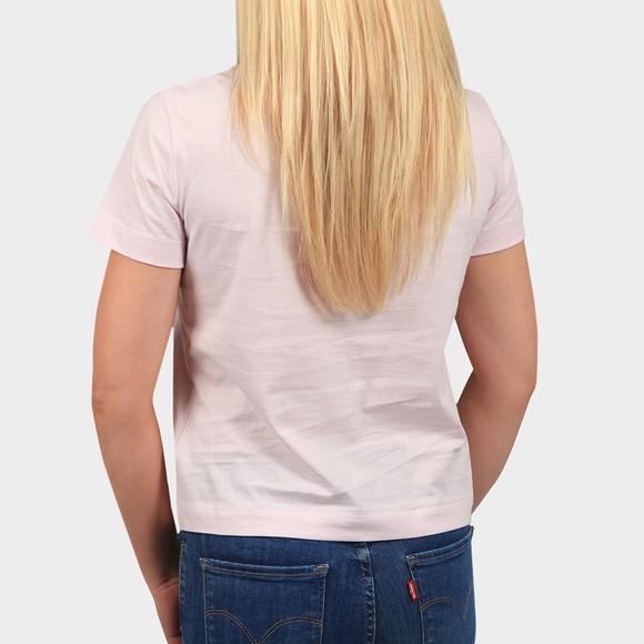 Calvin Klein Jeans Womens Pink Monogram Logo T Shirt main image