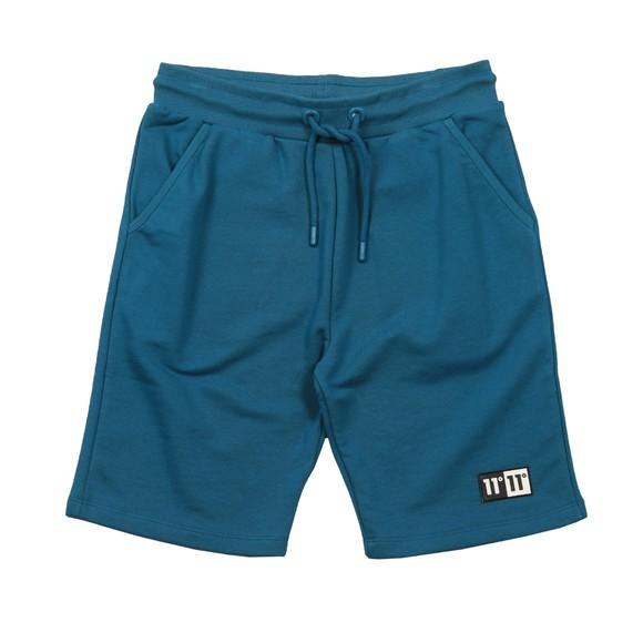 Eleven Degrees Mens Blue Onyx Sweat Short