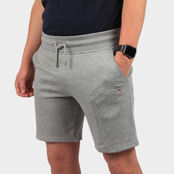 Gant Mens Grey Original Sweat Short