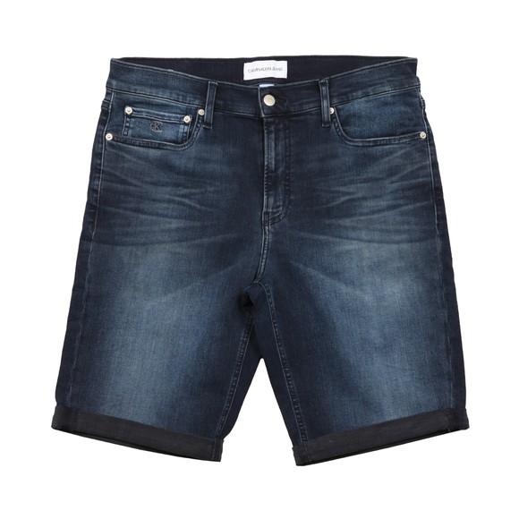 Calvin Klein Jeans Mens Blue Denim Short