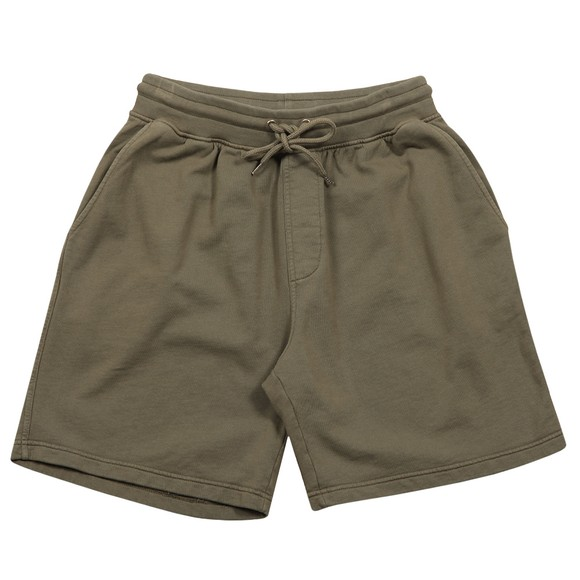 Colorful Standard Mens Green Classic Organic Sweat Short