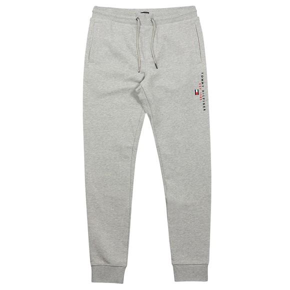 Tommy Hilfiger Mens Grey Essential Tommy Sweatpant