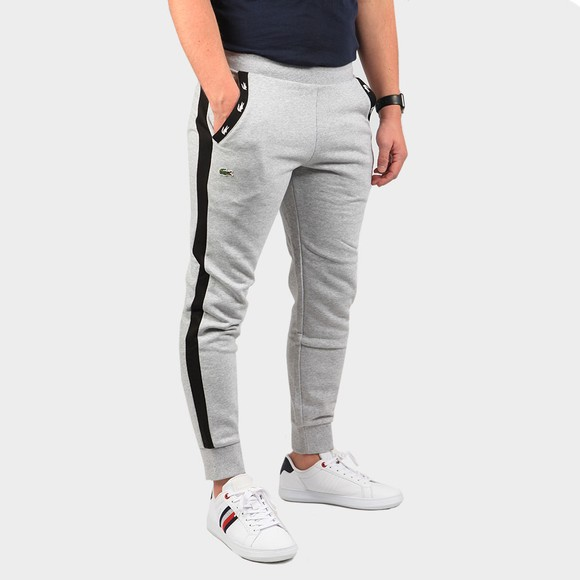 Lacoste Mens Grey XH5176 Tape Pocket Logo Jogger