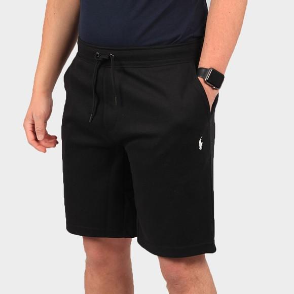 Polo Ralph Lauren Mens Black Double Tech Jersey Short