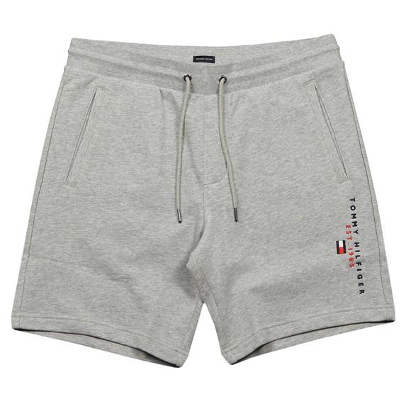 Tommy Hilfiger Mens Grey Essential Sweat Short