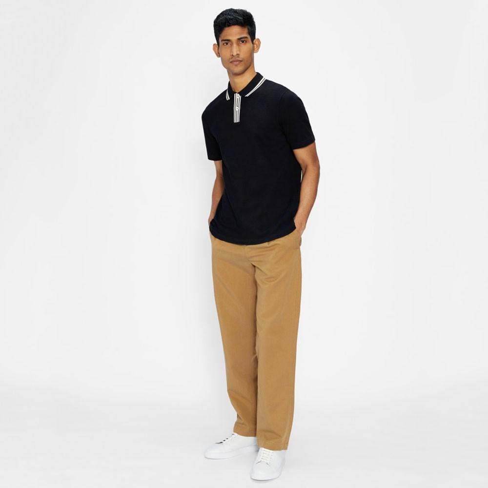 Twitwoo Stripe Collar Polo Shirt main image