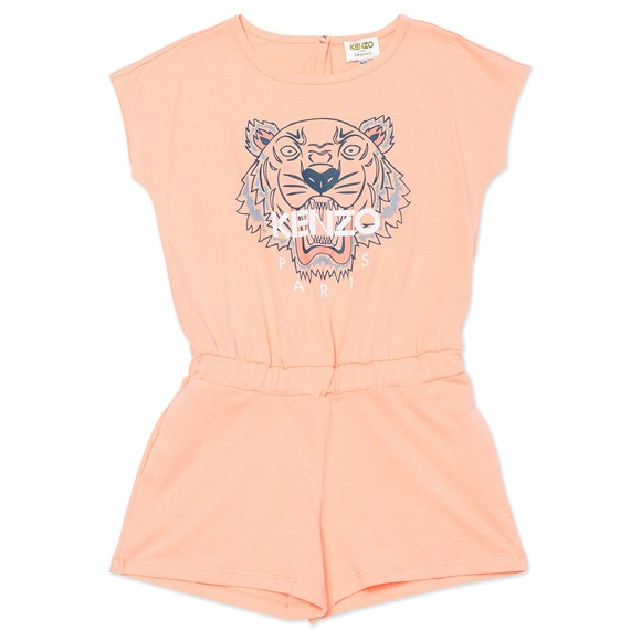 Kenzo Kids Girls Pink All in One Short Set
