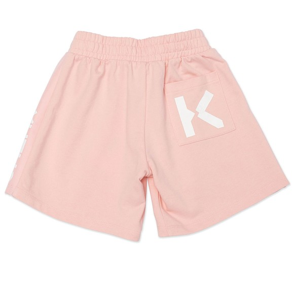 Kenzo Kids Girls Pink Side Logo Short