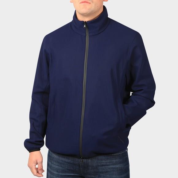Esemplare Mens Blue Emergency Filter System Shell Jacket