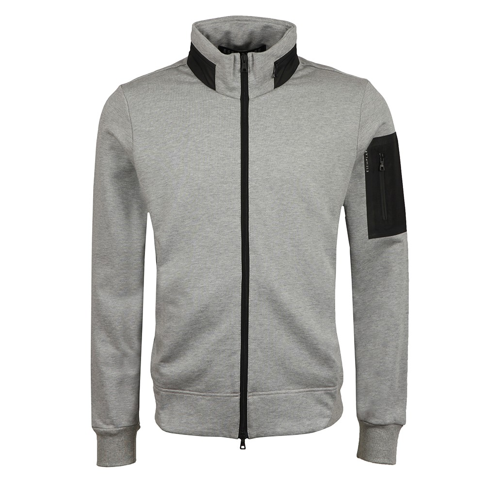 Full Zip Organic Fleece Sweatshirt