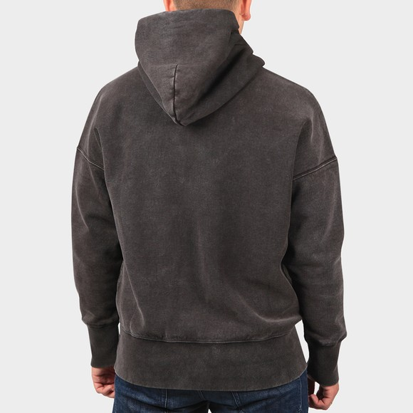Champion Reverse Weave Mens Black Over The Head Hoody main image