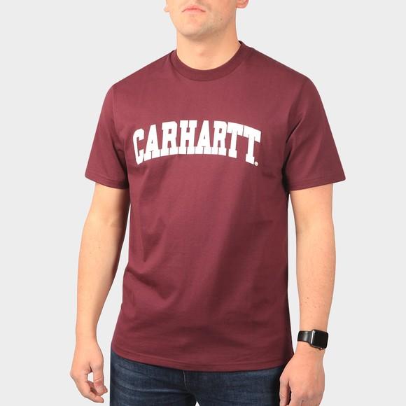 Carhartt WIP Mens Red University T-Shirt