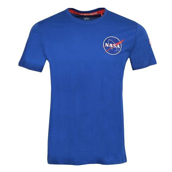 Alpha Industries Mens Blue Space Shuttle T Shirt