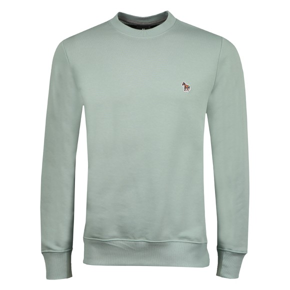 PS Paul Smith Mens Green Zebra Sweatshirt