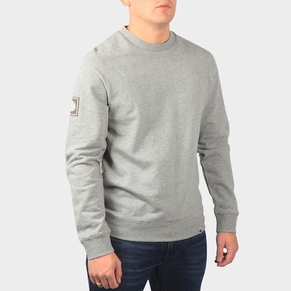 Pretty Green Mens Grey Crew Neck Sweatshirt