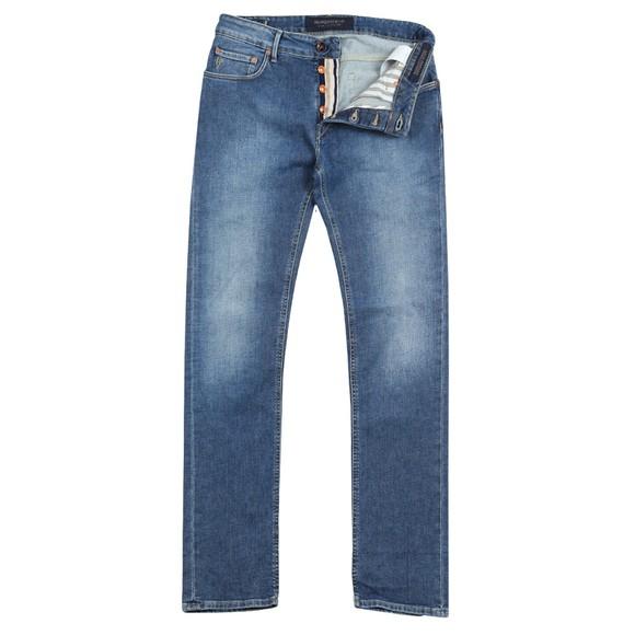 Handpicked Mens Blue Ravello Comfort Stretch Jean