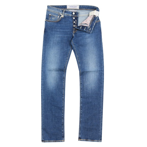 Jacob Cohen Mens Blue J622 Comfort Slim Jean