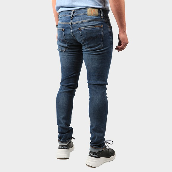 Nudie Jeans Mens Blue Tight Terry Jean main image