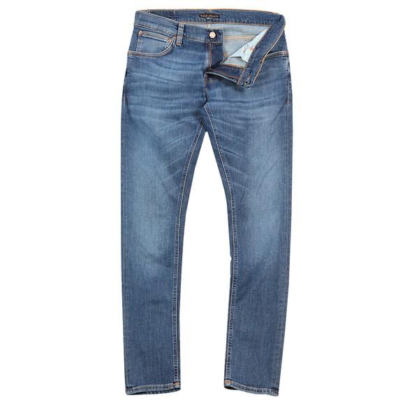 Nudie Jeans Mens Blue Tight Terry Jean