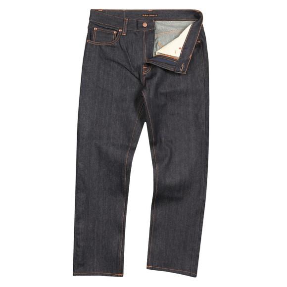 Nudie Jeans Mens Blue Gritty Jackson Jean