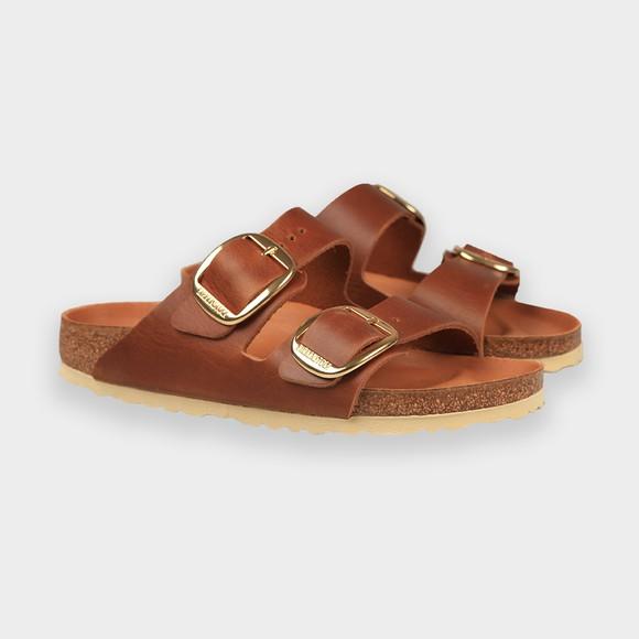 Birkenstock Womens Brown Arizona Big Buckle Sandal