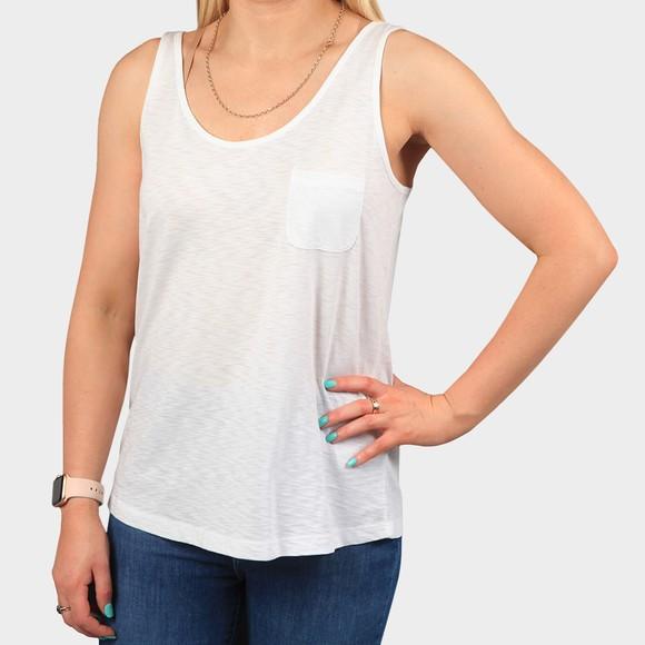 Superdry Womens White Organic Cotton Tank Top