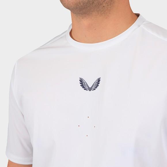 Castore Mens White Tech Performance T-Shirt main image