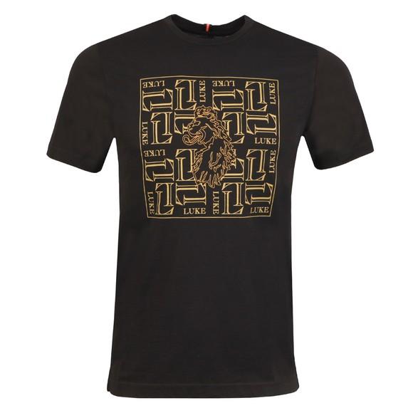 Luke 1977 Mens Black De Wolf T-Shirt