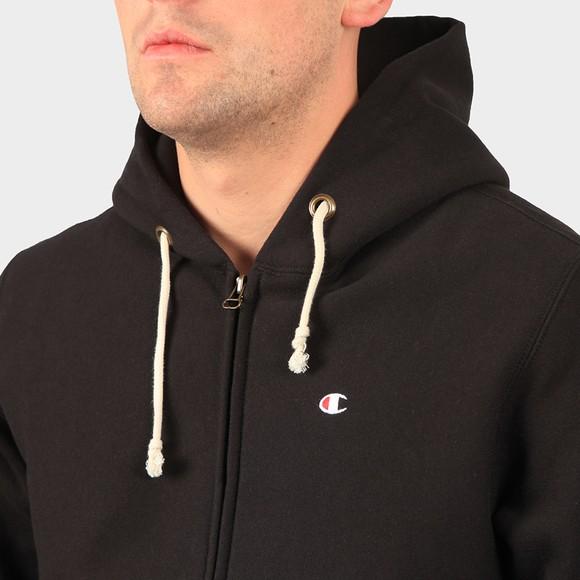 Champion Reverse Weave Mens Black Full Zip Hoodie main image