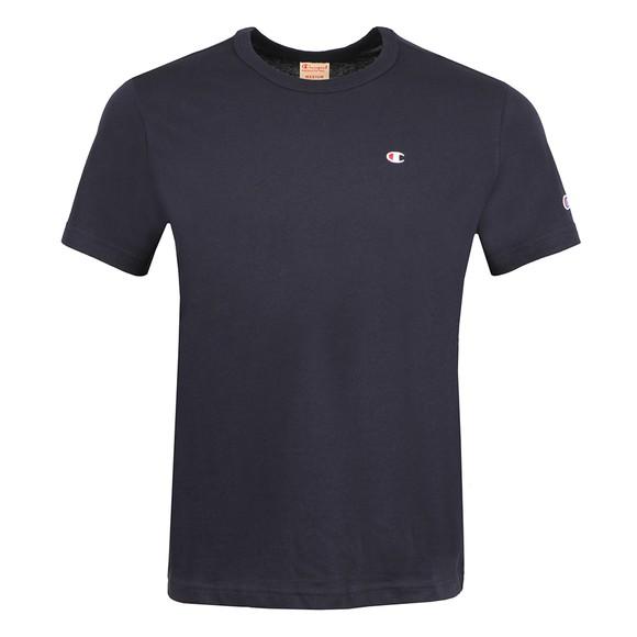 Champion Mens Blue Crew Neck T-Shirt