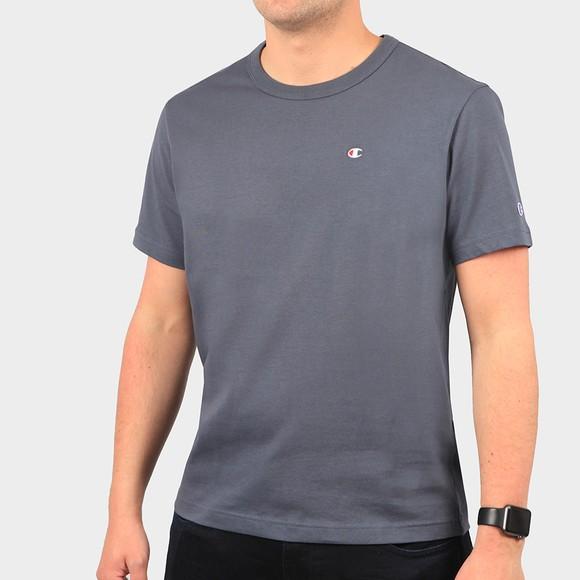 Champion Mens Grey Crew Neck T-Shirt