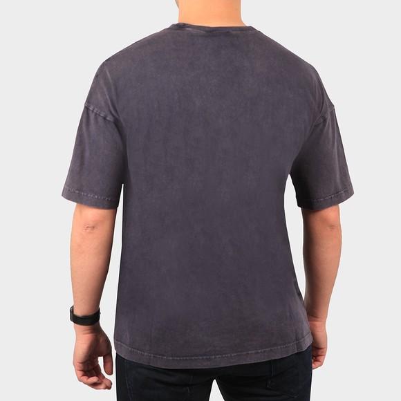 Champion Reverse Weave Mens Blue Crew Neck T-Shirt main image