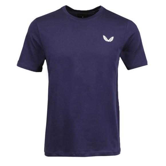 Castore Mens Blue SS T-Shirt
