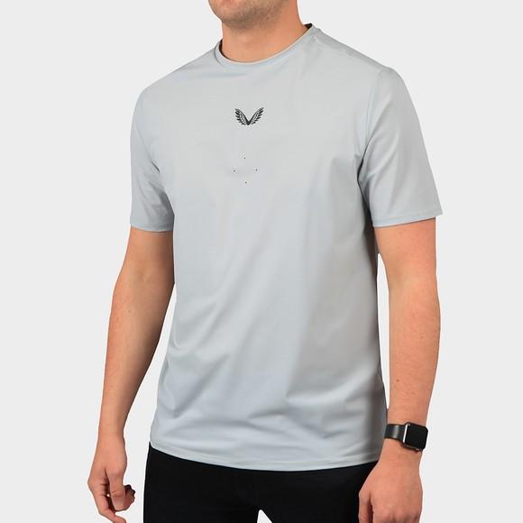 Castore Mens Grey Tech Performance T-Shirt