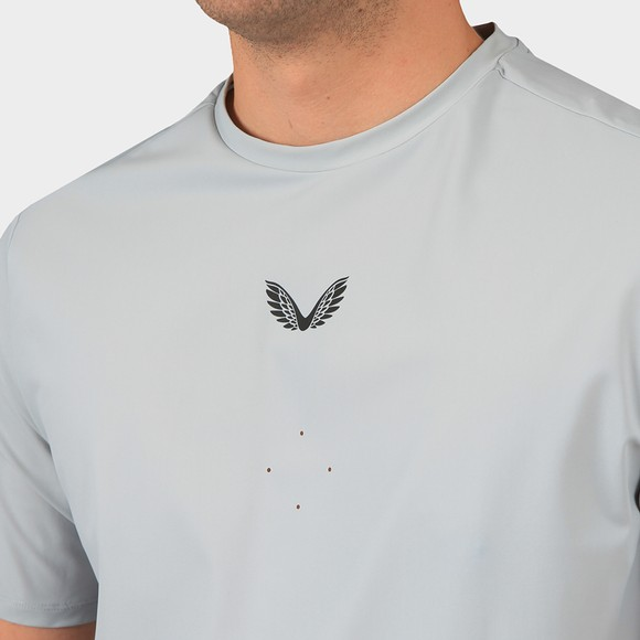 Castore Mens Grey Tech Performance T-Shirt main image