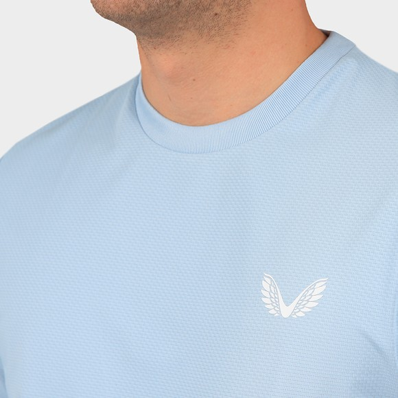 Castore Mens Blue Running T-Shirt main image