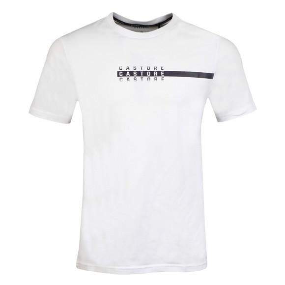 Castore Mens White Weekend SS T-Shirt