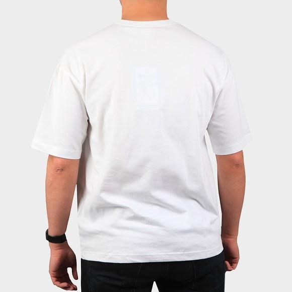 Champion Reverse Weave Mens White Box T-Shirt main image