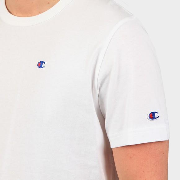 Champion Reverse Weave Mens White Crew Neck T-Shirt main image