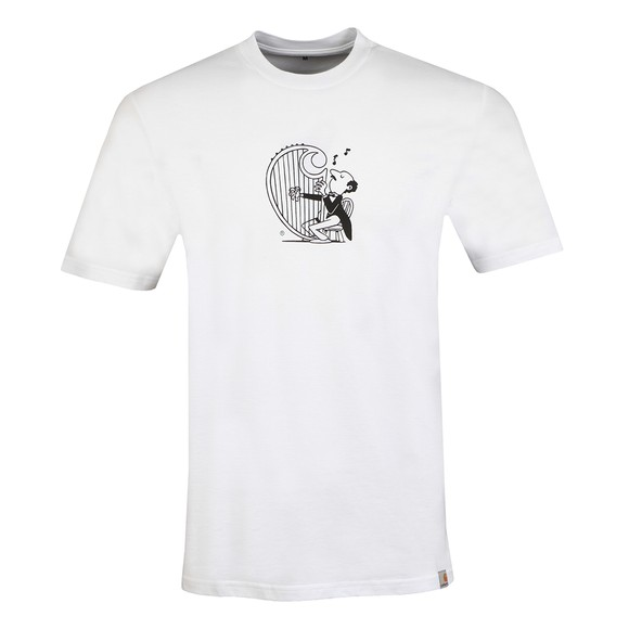 Carhartt WIP Mens White Harp T Shirt