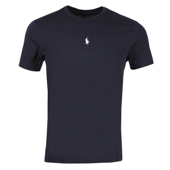 Polo Ralph Lauren Mens Blue Slim Fit Centre Logo T Shirt
