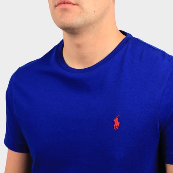 Polo Ralph Lauren Mens Blue Custom Slim Fit T-Shirt main image