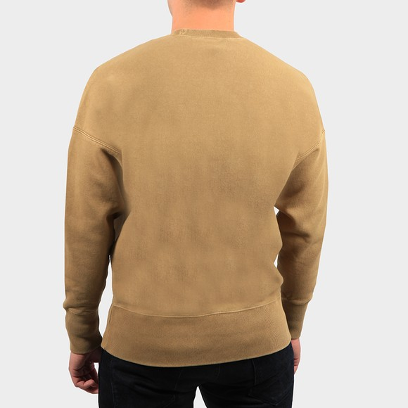 Champion Reverse Weave Mens Green Crew Neck Sweatshirt main image