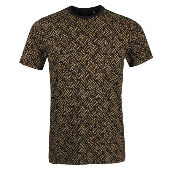 Luke 1977 Mens Black Richards T-Shirt