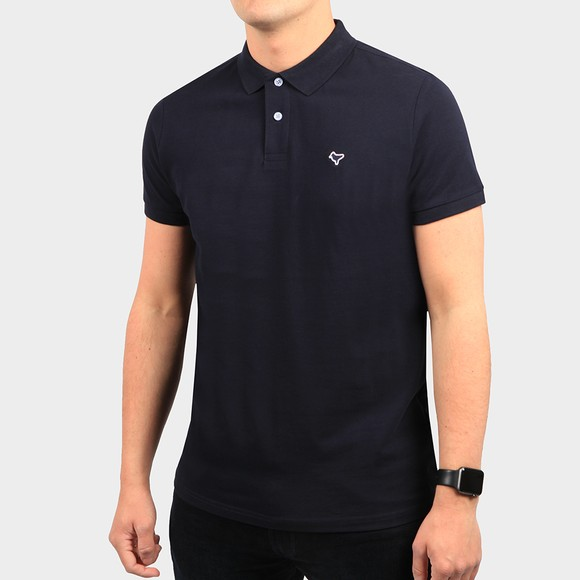 Weekend Offender Mens Blue Cannon Polo Shirt main image
