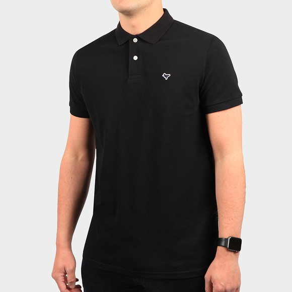 Weekend Offender Mens Black Cannon Polo Shirt