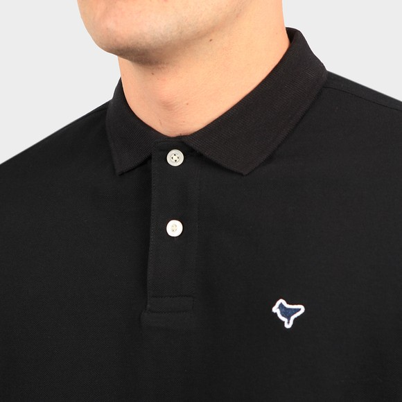 Weekend Offender Mens Black Cannon Polo Shirt main image